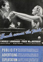 candidata a millonaria cartel pelicula movie poster hands across the table