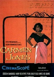 carmen jones cartel poster pelicula