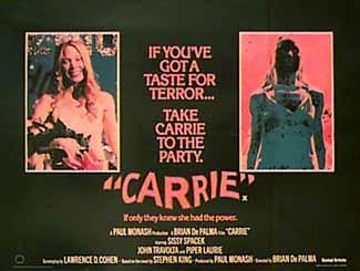 Las Mejores 100 Peliculas De Terror De Todos Los Tiempos. Carrie2