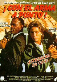 con el arma a punto cartel poster loaded weapon 1