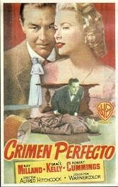 crimen perfecto cartel poster pelicula dial m for murder