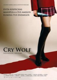 cry wolf movie poster cartel pelicula