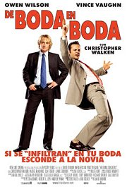 de boda en boda movie poster review cartel pelicula wedding crashers