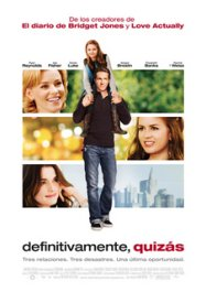 definitivamente quizas movie poster cartel pelicula review
