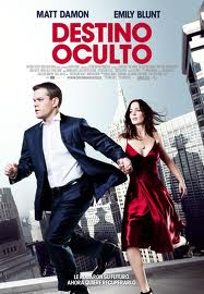 destino oculto cartel poster the adjustment bureau movie pelicula