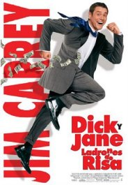 dick and jane y ladrones de risas review movie poster cartel pelicula