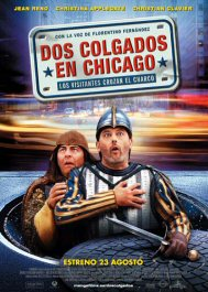 dos colgados en chicago just visiting cartel movie poster pelicula