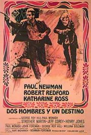 dos hombres y un destino cartel critica movie review poster butch cassidy and the sundance kid