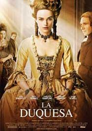 la duquesa cartel poster the duchess