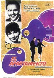 el apartamento the apartment pelicula movie poster cartel
