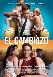 el cambiazo the change up cartel poster