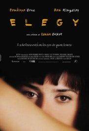 elegy movie review poster cartel