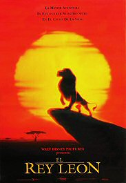 el rey leon movie poster cartel pelicula the lion king