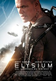 elysium movie review cartel pelicula poster