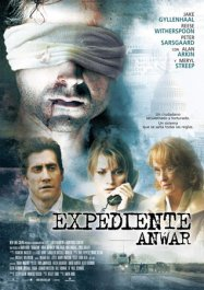 rendition movie poster review cartel pelicula expediente anwar