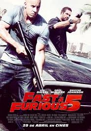 fast furious 5 movie poster cartel review critica pelicula