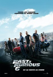 fast and furious 6 movie poster cartel pelicula