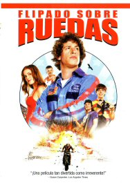 flipado sobre ruedas movie review poster cartel hot rod pelicula