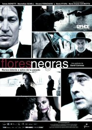 flores negras cartel pelicula movie poster