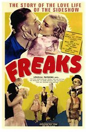 freaks la parada de los monstruos movie poster cartel pelicula
