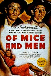 la fuerza bruta cartel critica of mice and men movie review poster