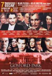 gosford park cartel pelicula poster movie