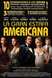 american hustler movie poster la gran estafa americana cartel