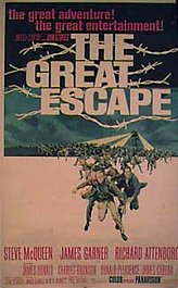 la gran evasion cartel pelicula the great escape movie poster