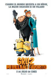 gru 2 movie poster cartel película