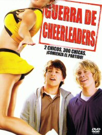 guerra de cheerleaders fired up movie poster cartel pelicula