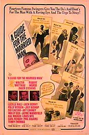 guia para el hombre casado a guide for the married man cartel poster