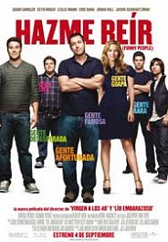 hazme reir cartel pelicula movie poster funny people