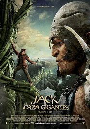 jack el caza gigantes the Giant slayer movie poster cartel pelicula