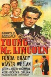 el joven lincoln pelicula cartel young mr lincoln poster movie