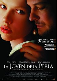 la joven de la perla cartel pelicula movie poster girl with a pearl earring