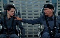 games ender movie review Harrison Ford asa butterfield