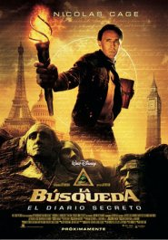 la busqueda el diario secreto movie review poster cartel