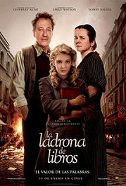 la ladrona de libros poster cartel movie pelicula Book thief