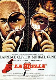 la huella sleuth cartel pelicula movie poster