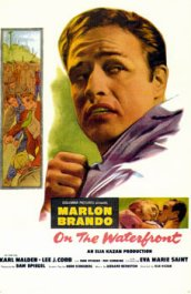 on the waterfront la ley del silencio cartel poster