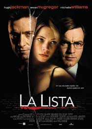 la lista movie poster cartel pelicula