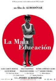 la mala educacion movie poster cartel pelicula bad education