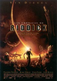 las cronicas de riddick movie poster cartel pelicula review the chronicles of