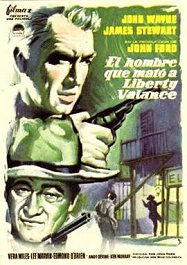 el hombre que mato a liberty valance cartel critica the man who shot liberty valance poster
