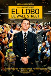 the wolf of wall street movie poster cartel pelicula el lobo de wall Street