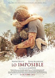 lo imposible cartel poster the impossible