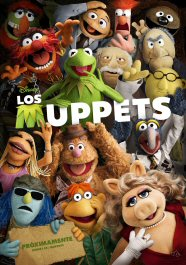 los muppets cartel poster pelicula