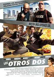los otros dos the Other guys cartel poster