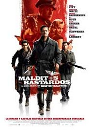 inglorious basterds movie review poster cartel malditos bastardos pelicula