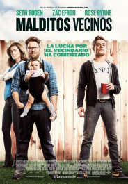 malditos vecinos neighbors movie poster cartel pelicula